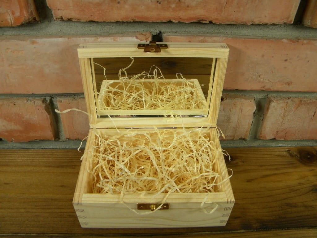 Pudełko prezentowe z lusterkiem